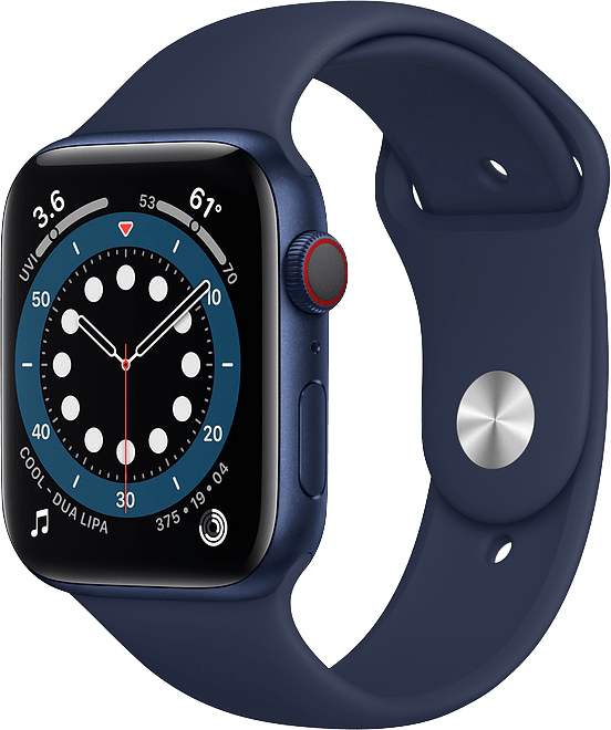 Dunkle Marine Apple Watch Series 6 GPS + Cellular , 44mm.1