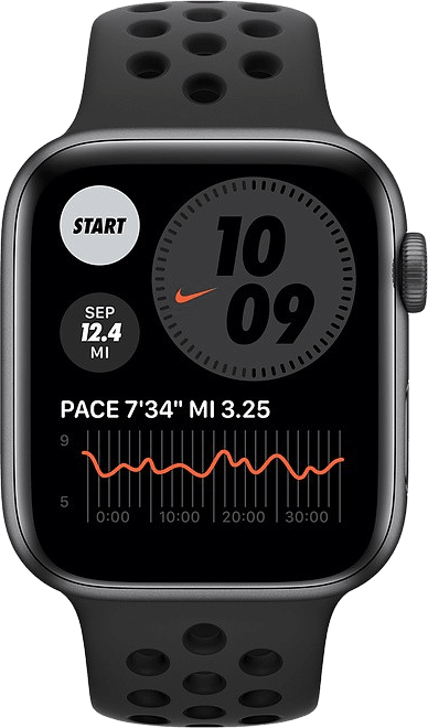 Anthracite/black Apple Watch Nike SE GPS, 44mm.2