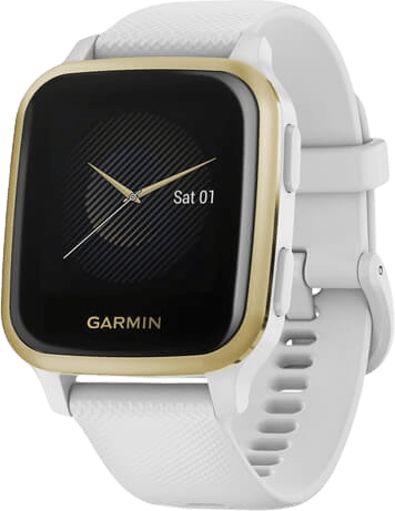 White Garmin Venu Sq GPS Sports watch.1