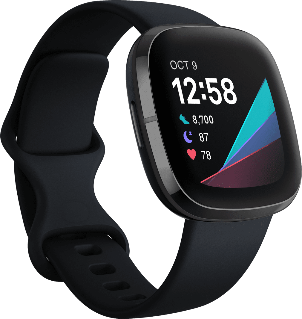 Carbon & Graphite Fitbit Sense, 41mm.1