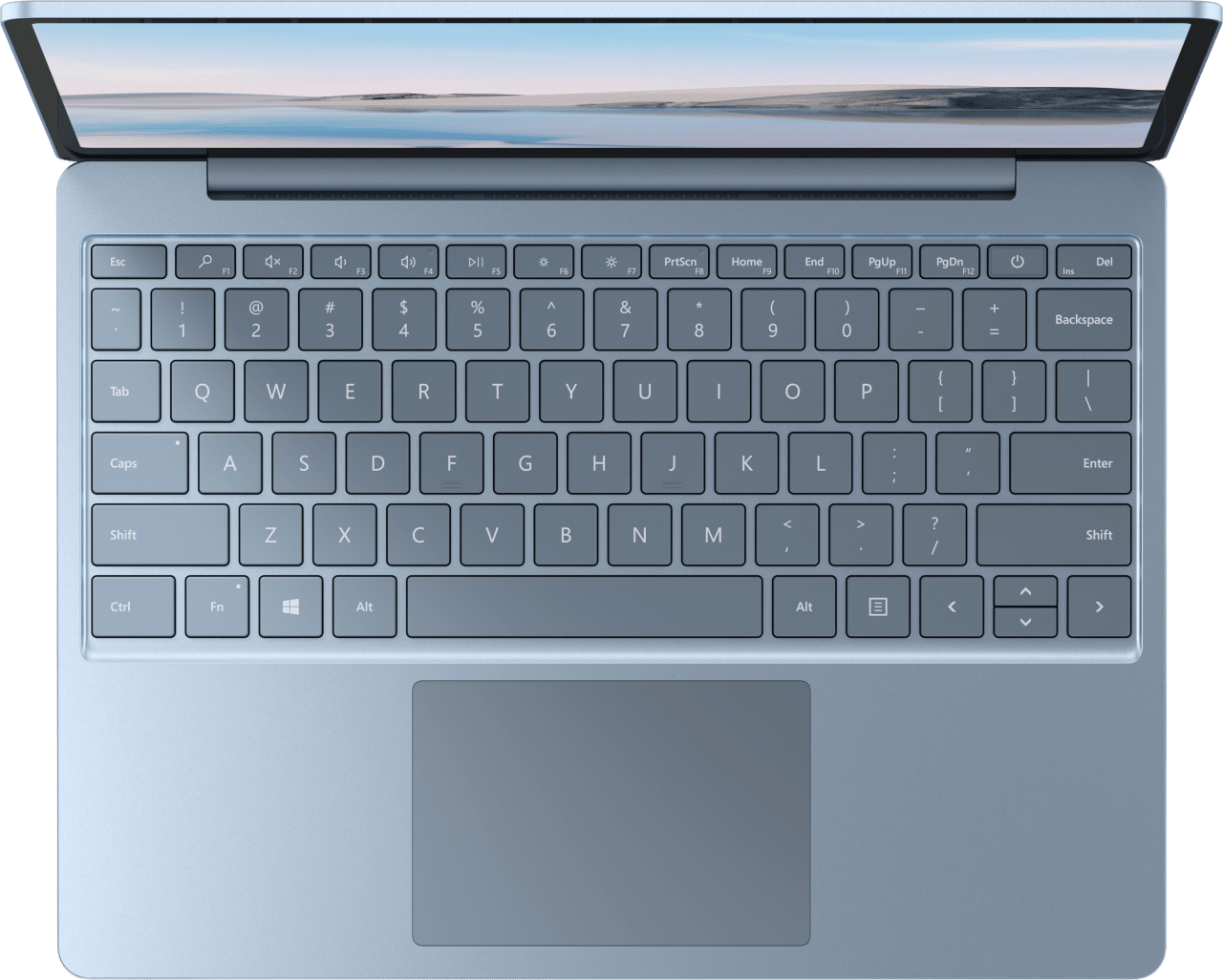 Eisblau Microsoft Surface Laptop Go Notebook - Intel® Core™ i5-1035G1 - 8GB - 128GB SSD - Intel® Iris™ Plus Graphics.3