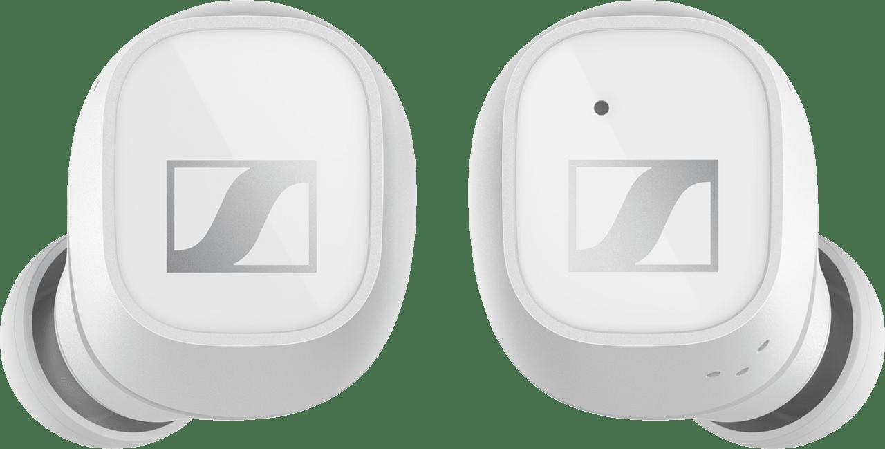 Weiß Sennheiser CX 400BT Noise-cancelling In-ear Bluetooth-Kopfhörer.3