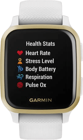 Weiß Garmin Venu Sq GPS-Sportuhr.3