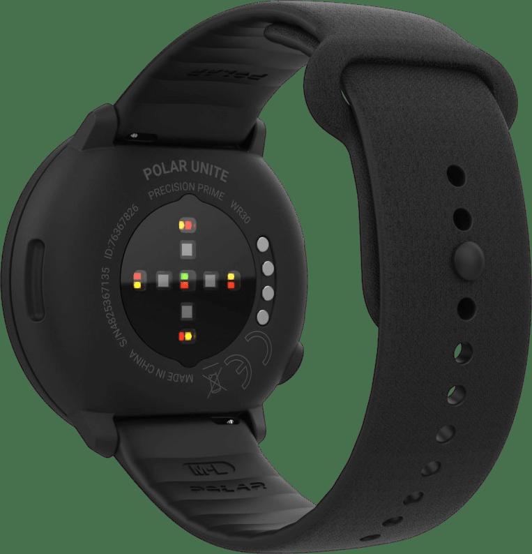 Schwarz Polar Unite GPS-Sportuhr.3