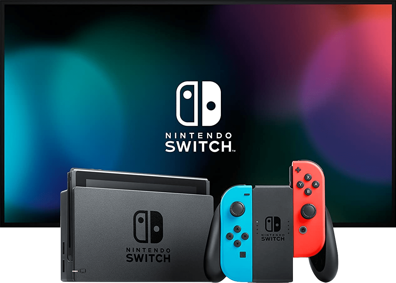 Neon Red / Neon Blue Nintendo Switch (2019 Edition).1