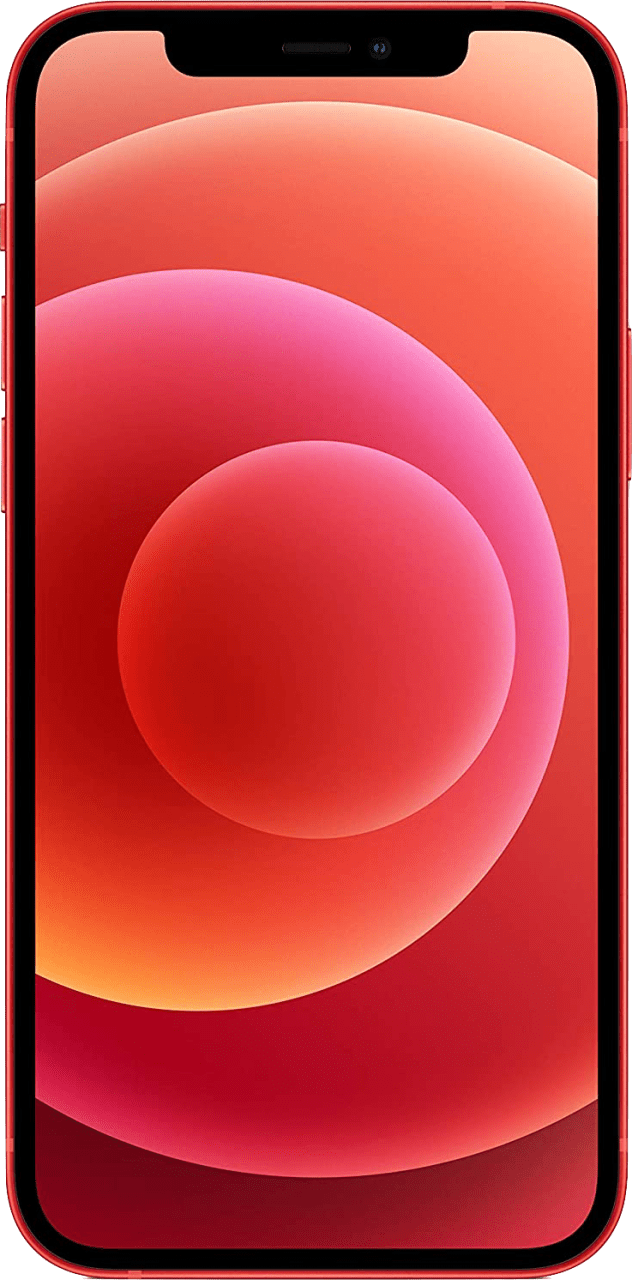 (Product)Red Apple iPhone 12 64GB.2