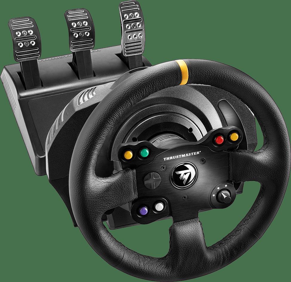 Negro Thrustmaster TX RW Leather Edition (Xbox+PC).1