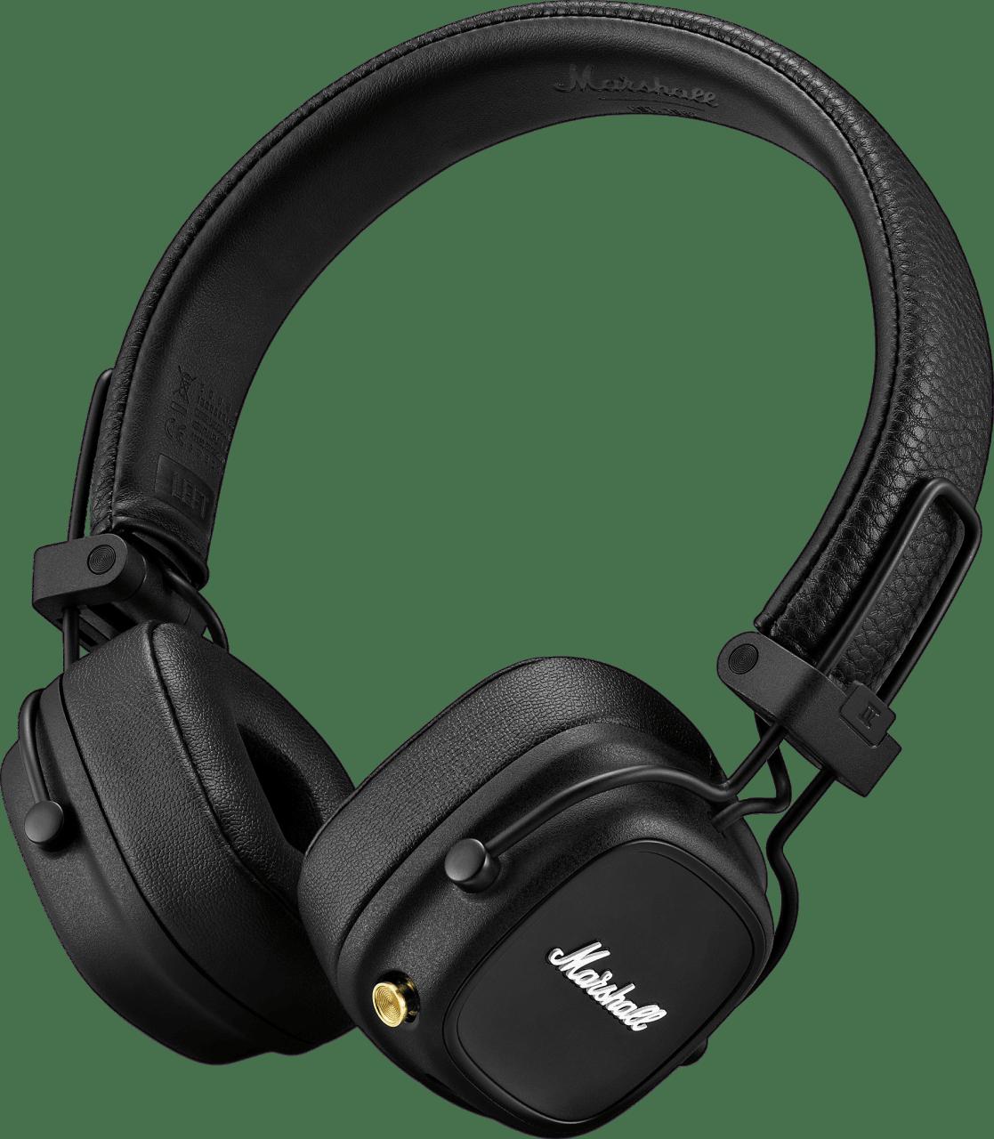 Schwarz Marshall Major IV On-ear Bluetooth Headphones.1