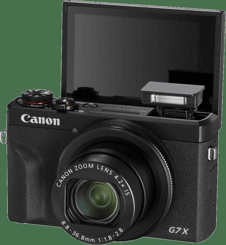 Schwarz Canon PowerShot G7X Mark III.3