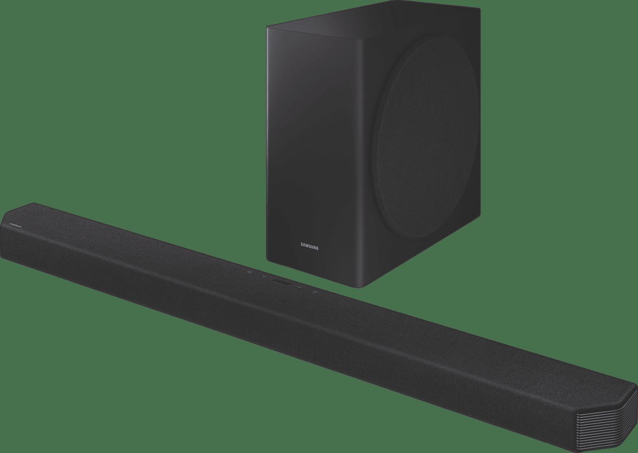 Black Samsung HW-Q900T Soundbar.1