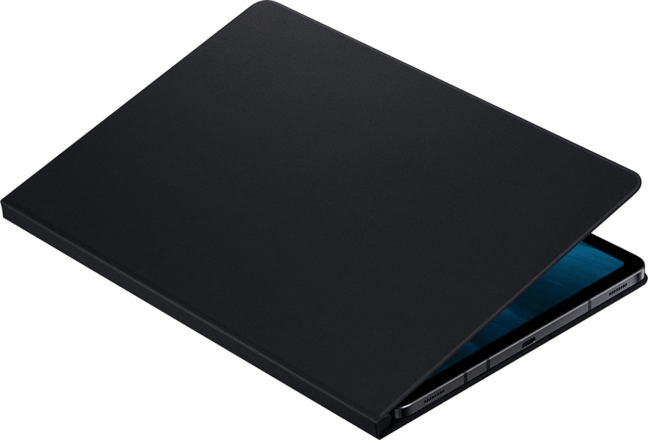 Black Samsung Book Cover for Galaxy Tab S7.3