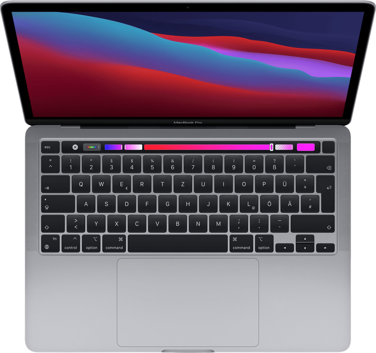 "Space Grey Apple 13"" MacBook Pro (Late 2020) Laptop - Apple M1 - 8GB - 512GB SSD - Apple Integrated 8-core GPU.1"