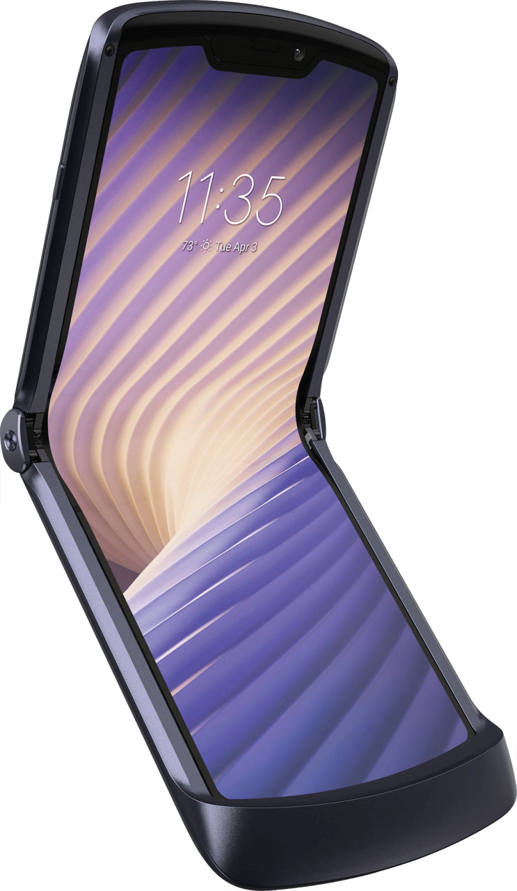 Schwarz Motorola Razr 256GB (2020).2