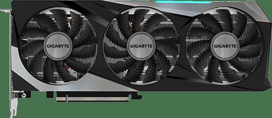 Black GigaByte GeForce® RTX™ 3070 Gaming OC Graphics Card.1