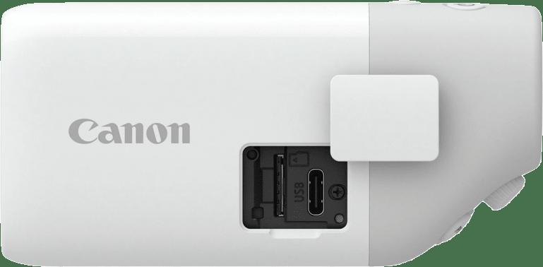 White Canon Powershot Zoom.4