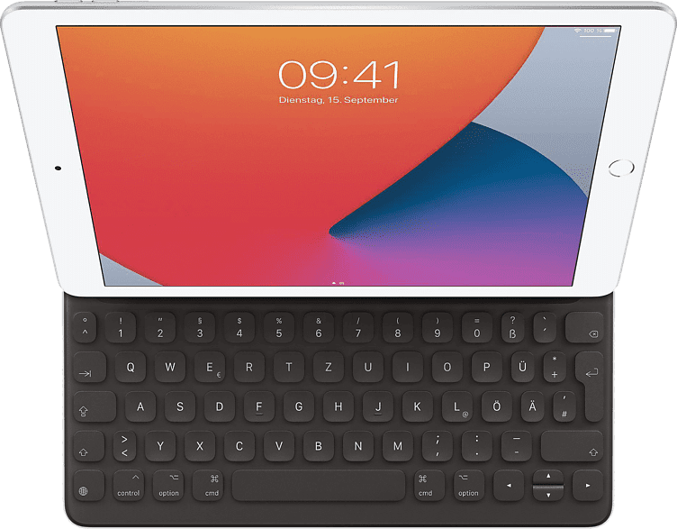 Black Apple Smart Keyboard for iPad.1