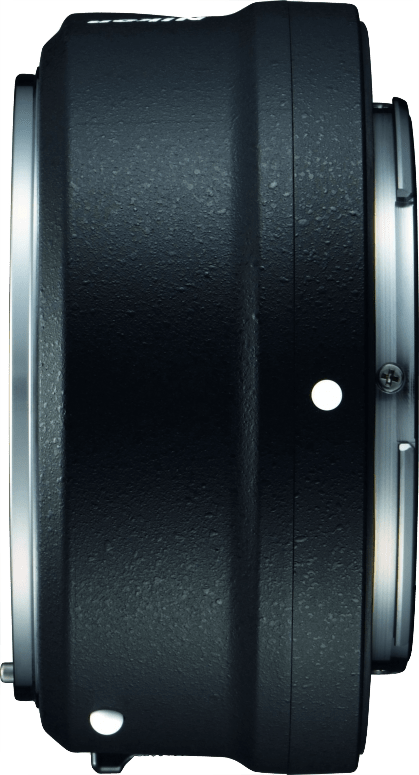Black Nikon FTZ bayonet adapter.3