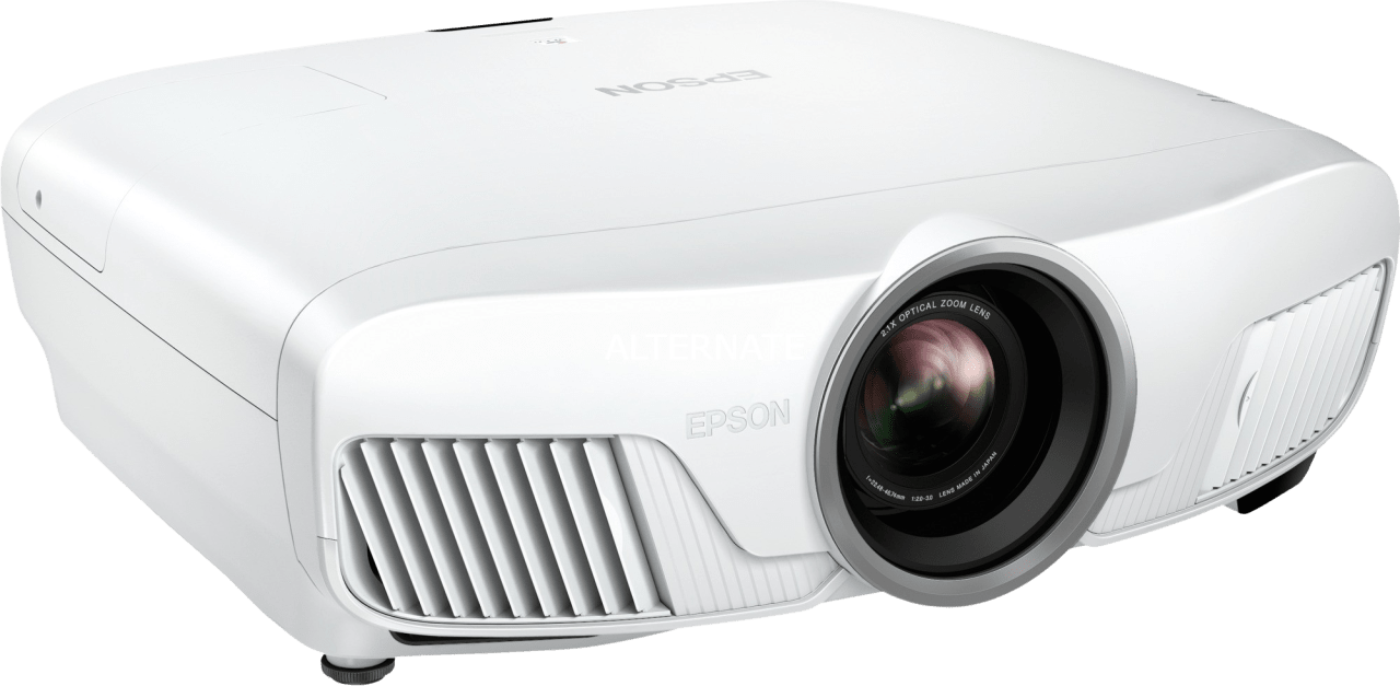 White Epson EH-TW7400 4K UHD Projector.2