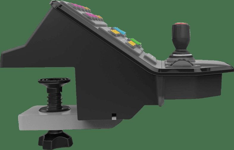 Black Logitech Saitek G Farming Simulator Control Panel.3
