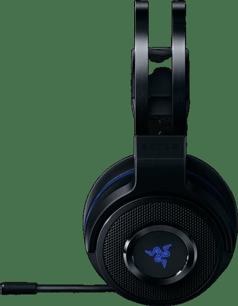 Black Razer Thresher 7.1 (Playstation) Over-ear Gaming Headphones.1