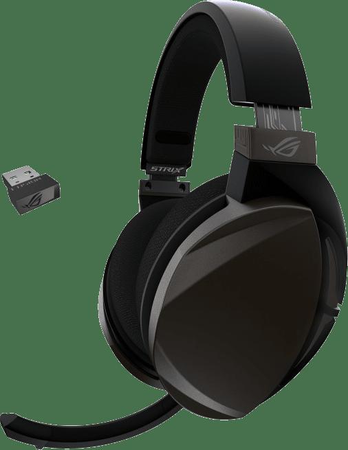 Negro Asus ROG Strix Fusion Auriculares inalámbricos para juegos sobre la oreja.1