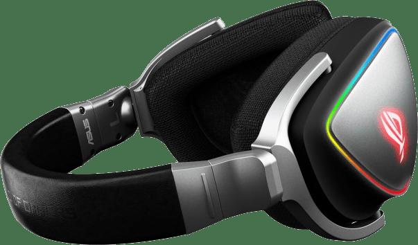 Schwarz Asus ROG Delta Over-Ear-Gaming-Kopfhörer.3