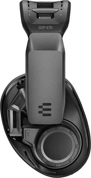 Black EPOS Sennheiser GSP 670 Over-ear Gaming Headphones.2