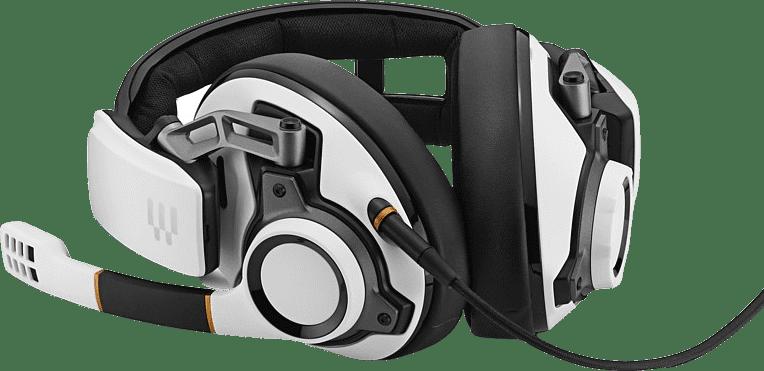 White / Black EPOS Sennheiser GSP 601 Over-ear Gaming Headphones.3
