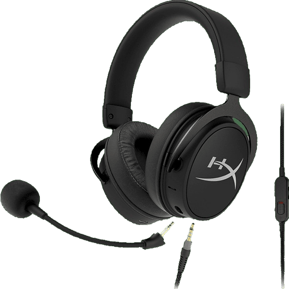 Schwarz HyperX Cloud Mix Over-Ear-Gaming-Kopfhörer.1