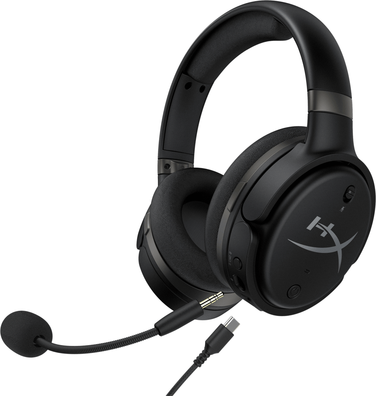Black HyperX Cloud Orbit S Over-ear Gaming Headphones.1