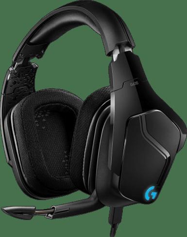 Schwarz Logitech G635 Over-Ear Gaming-Kopfhörer.1