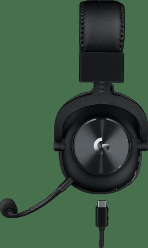 Black Logitech G Pro X Lightspeed Over-ear Gaming Headphones.2