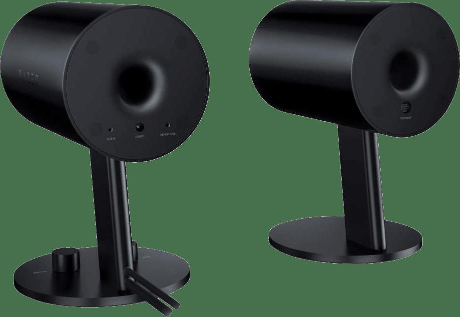 Negro Razer Nommo Chroma Gaming Speakers.3