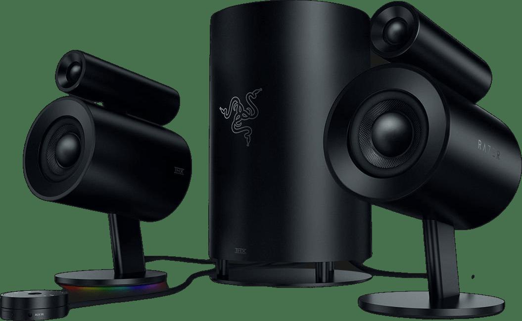 Negro Altavoces para juegos Razer Nommo Pro.2