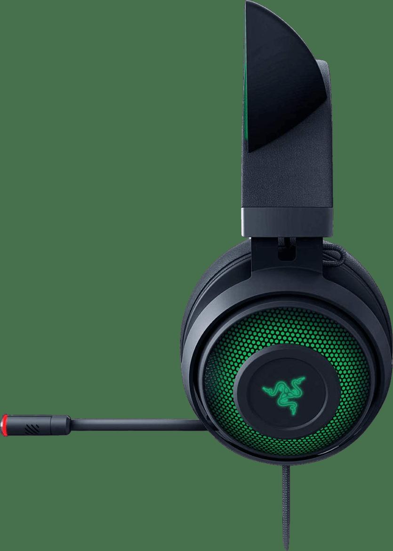 Black Razer Kraken Kitty Edition Over-ear Gaming Headphones.3