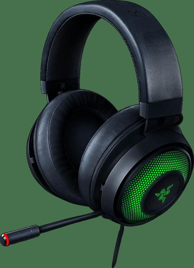 Black Razer Kraken Ultimate Over-ear Gaming Headphones.1