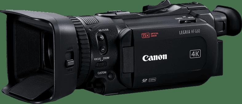 Black Canon Legria HF G60 4K Camcorder.1