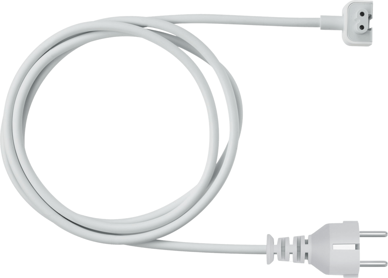 White Apple Power Adapter Extension Cable.1