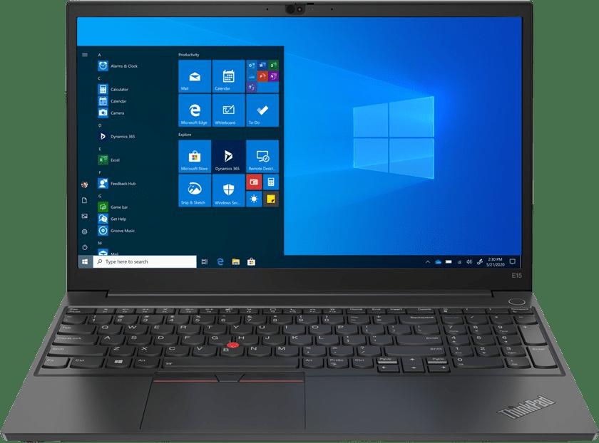 Schwarz Lenovo ThinkPad E15 G2 Notebook - Intel® Core™ i5-1135G7 - 8GB - 256GB SSD - Intel® Iris® Xe Graphics.1