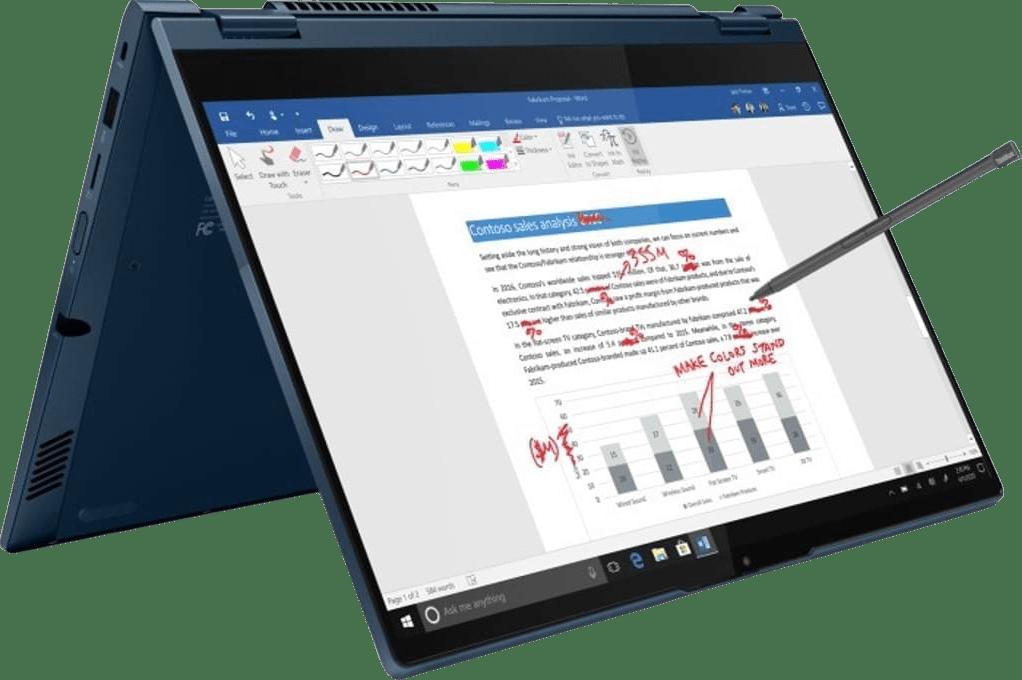 Abyss Blau Lenovo ThinkBook 14s Yoga 2in1 - Intel® Core™ i5-1135G7 - 8GB - 256GB SSD - Intel® Iris® Xe Graphics.1