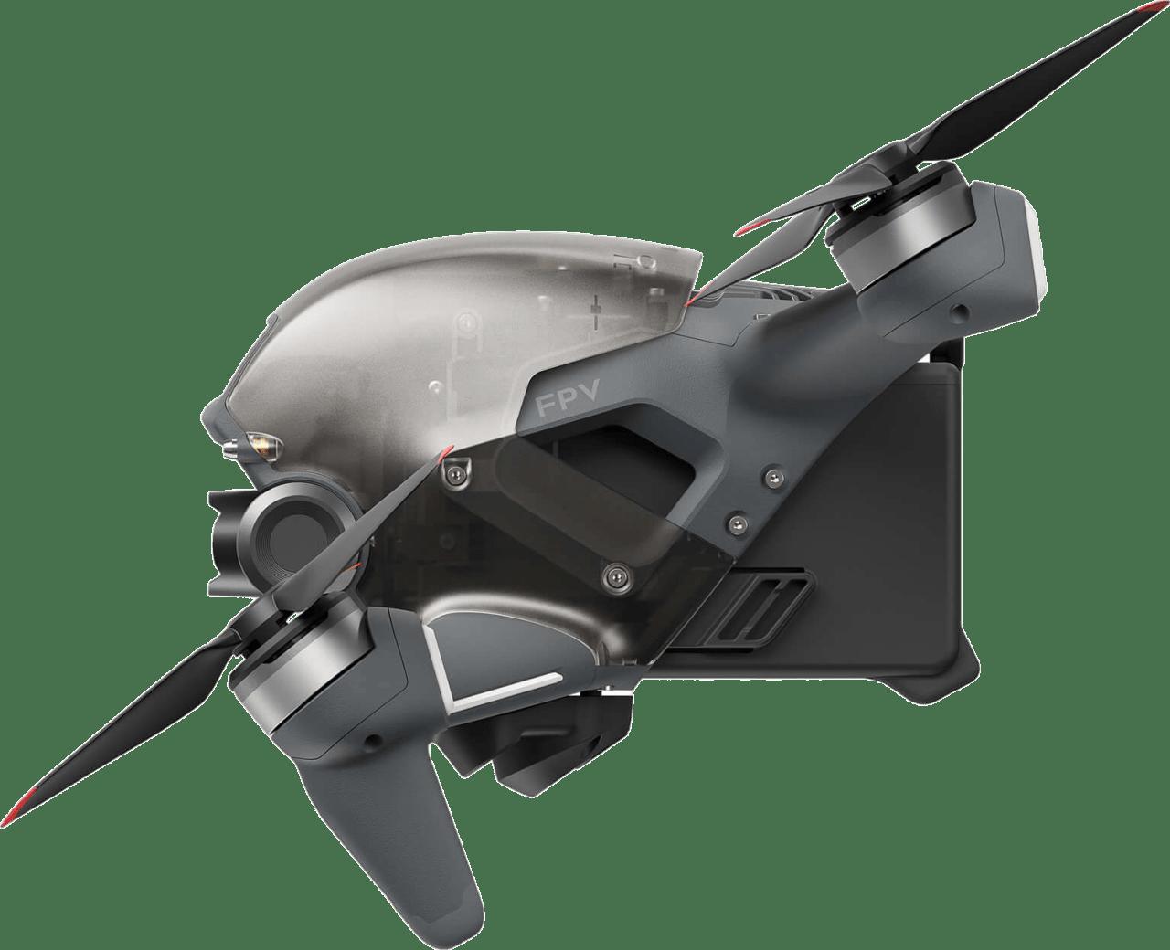Grey DJI FPV Combo Drone.3