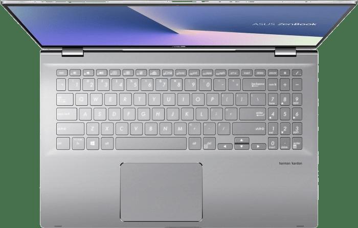 "Silver Asus Zenbook Flip 15"" Convertible - AMD Ryzen™ 7 4700U - 16GB - 1TB SSD - NVIDIA® GeForce® MX250.2"