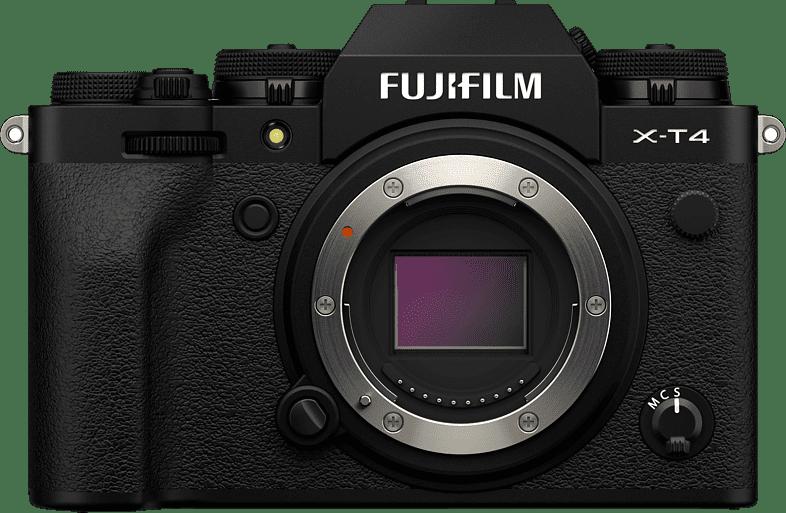Schwarz Fujifilm X-T4 Gehäuse.1