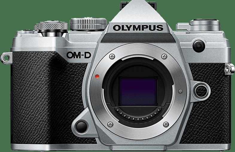 Silver Olympus OM-D E-M 5 Mark III Body System Camera.1