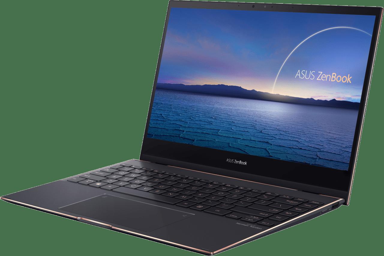 Schwarz Asus ZenBook Flip 13 UX371EA-HL003R 2in1 - Intel® Core™ i7-1165G7 - 16GB - 1TB SSD - Intel® Iris® Xe Graphics.3