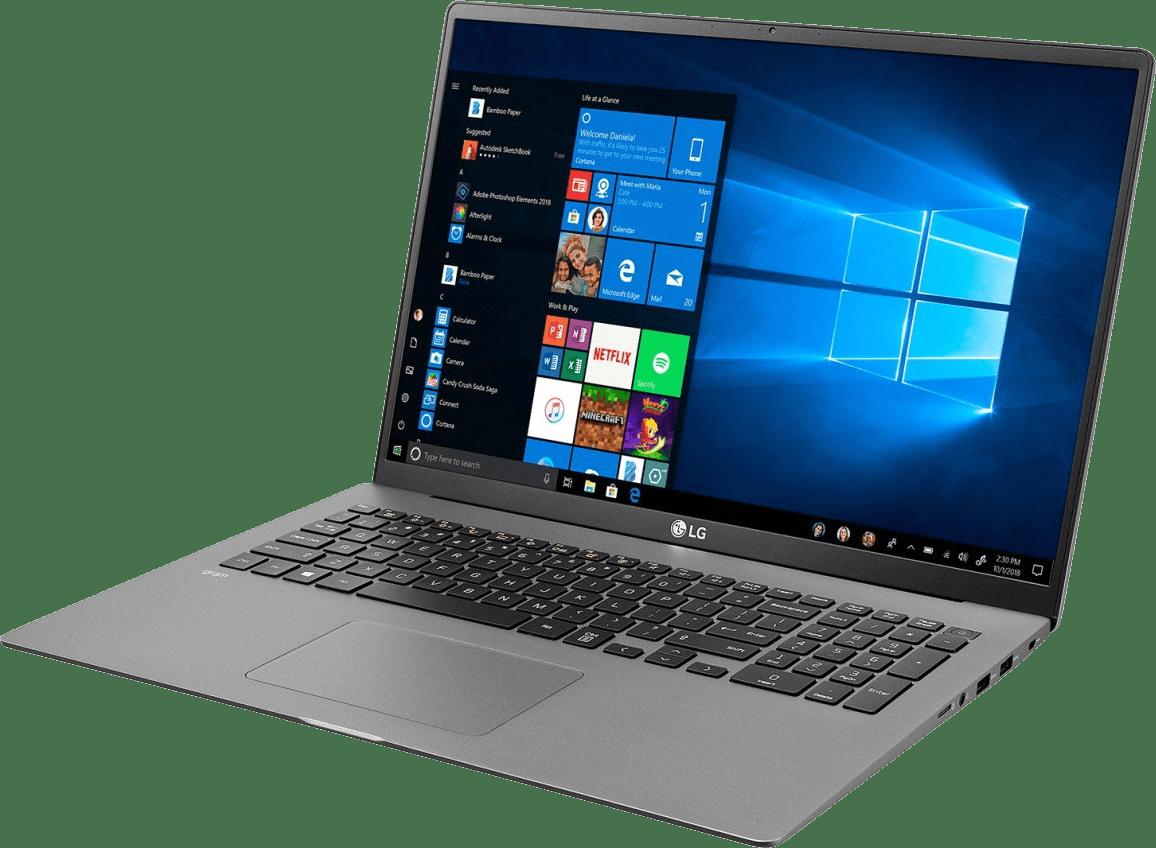 Dark Silver LG gram 17 Business Edition Laptop - Intel® Core™ i7-1065G7 - 16GB - 1TB SSD - Intel® Iris® Plus Graphics.2