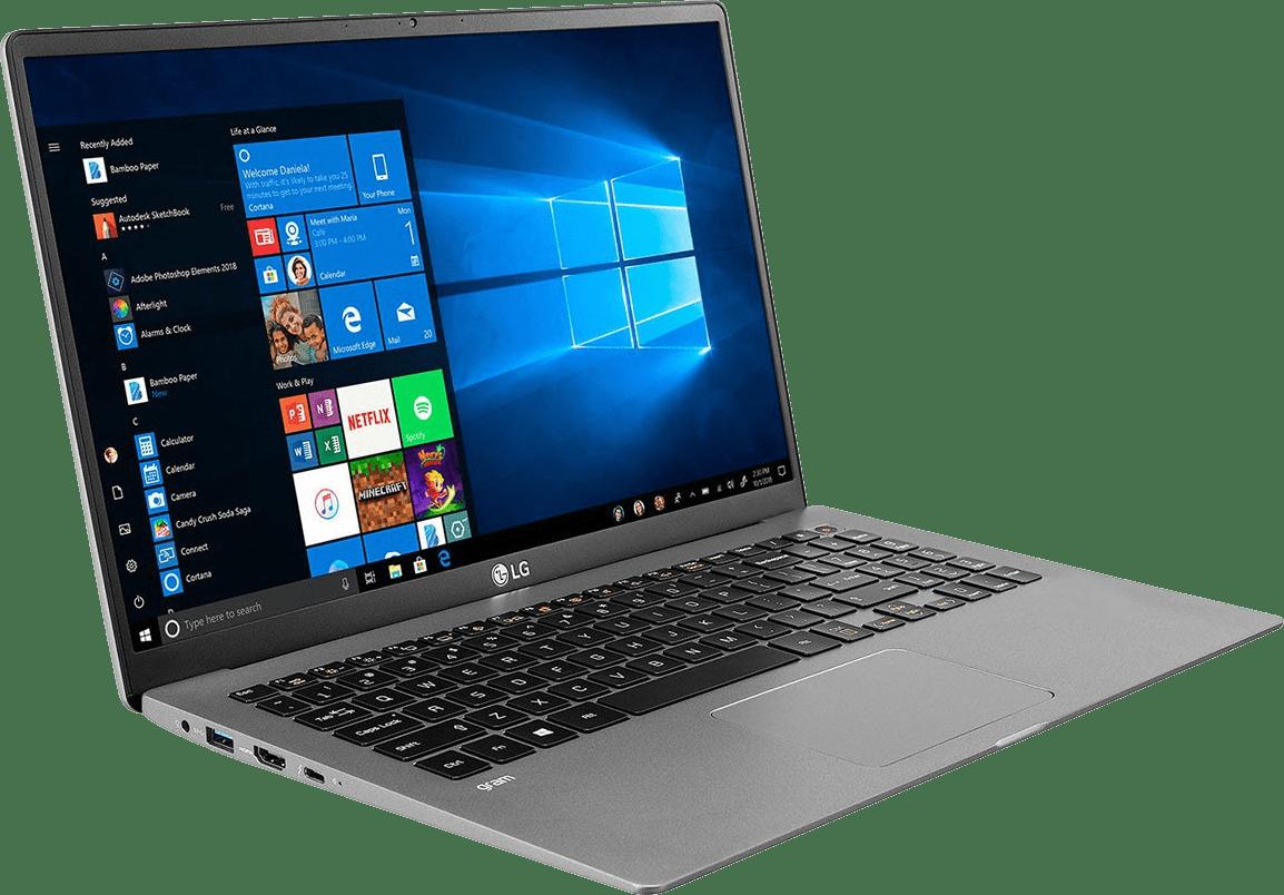 Dark Silver LG gram 15 Business Edition Laptop - Intel® Core™ i5-1035G7 - 8GB - 512GB SSD - Intel® Iris® Plus Graphics.4