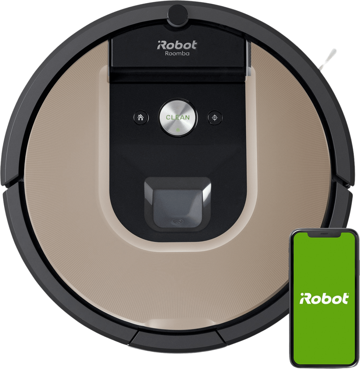 White iRobot Roomba 966 Vacuum Cleaner Robot.1
