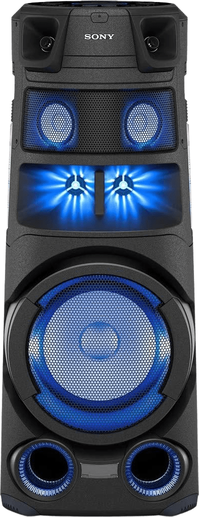 Black Sony MHC-V83D Partybox Party Bluetooth Speaker.1