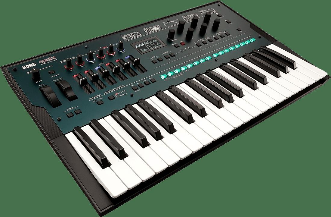 Black Korg Opsix FM Synthesizer.3